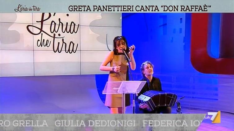 Greta Panettieri e Paolo Russo live a LA7